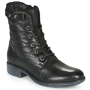 Schoenen Dames Laarzen Dream in Green NELATINE Zwart