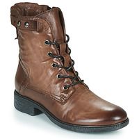 Schoenen Dames Laarzen Dream in Green NELATINE Brown