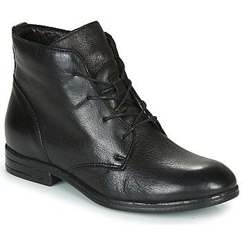 Schoenen Dames Laarzen Dream in Green NERGLISSE Zwart