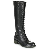 Schoenen Dames Hoge laarzen Dream in Green NUCRE Zwart