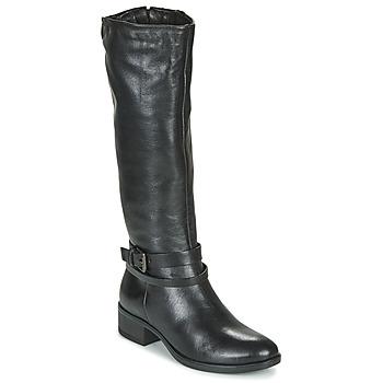 Schoenen Dames Hoge laarzen Dream in Green NOURON Zwart