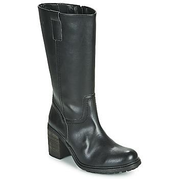 Schoenen Dames Hoge laarzen Dream in Green NISCUIT Zwart