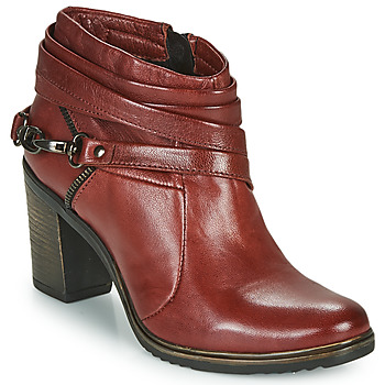 Schoenen Dames Low boots Dream in Green NEGUS Bordeaux