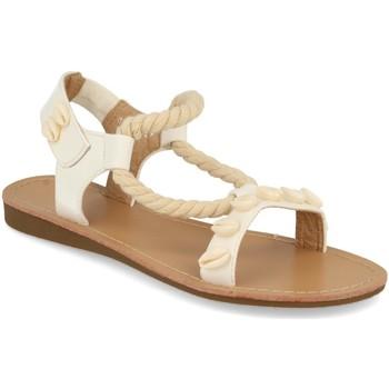 Schoenen Dames Sandalen / Open schoenen Buonarotti 1GG-0248 Blanco