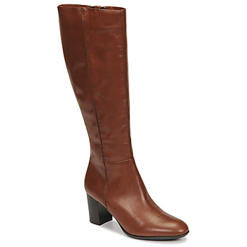 Schoenen Dames Hoge laarzen Fericelli NAVAROIS  camel