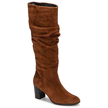 Schoenen Dames Hoge laarzen Fericelli NEIGNET  camel