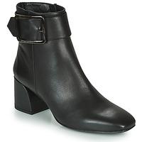 Schoenen Dames Enkellaarzen Fericelli NUCHE Zwart