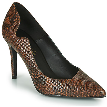 Schoenen Dames pumps Fericelli NANELE Brown