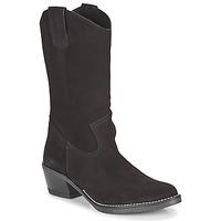 Schoenen Dames Hoge laarzen Casual Attitude NESCARGO Zwart