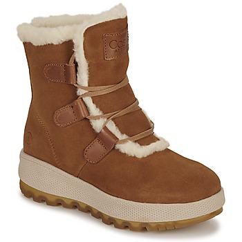 Schoenen Dames Snowboots Casual Attitude NAREIGNE  camel