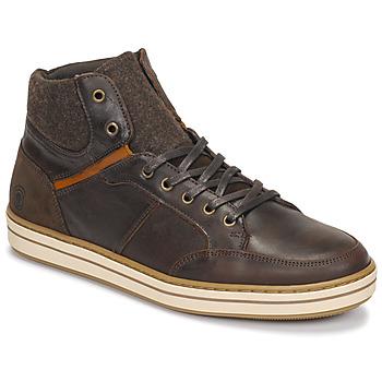 Schoenen Heren Hoge sneakers Casual Attitude NOURDON Brown