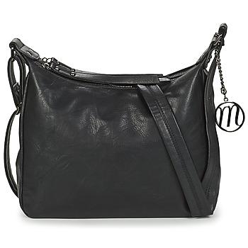 Tassen Dames Schoudertassen met riem Moony Mood TINRO Zwart