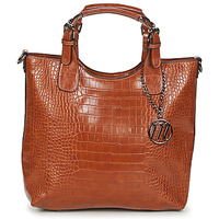 Tassen Dames Handtassen kort hengsel Moony Mood EMIRA CROCO Brown