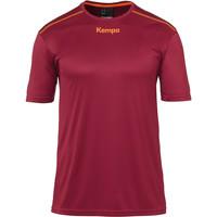 Textiel Jongens T-shirts korte mouwen Kempa Maillot  Poly rouge