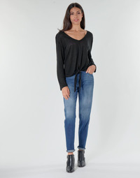 Textiel Dames Straight jeans G-Star Raw 3301 HIGH STRAIGHT 90'S ANKLE WMN Faded / Kobalt