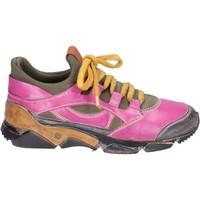 Schoenen Dames Lage sneakers Moma Baskets BM547 Rose