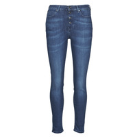Textiel Dames Skinny jeans Guess 1981 EXPOSED BUTTON POWER Blauw / Donker