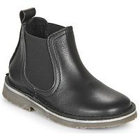 Schoenen Kinderen Laarzen Citrouille et Compagnie HOVETTE Zwart