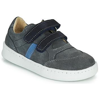 Schoenen Jongens Lage sneakers Citrouille et Compagnie NESTOK Grijs / Marine