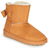 Schoenen Dames Laarzen Moony Mood NOWER  camel