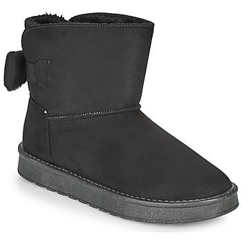 Schoenen Dames Laarzen Moony Mood NOWER Zwart