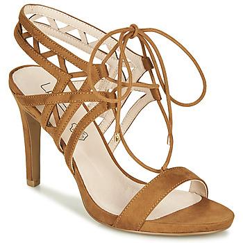 Schoenen Dames Sandalen / Open schoenen Les Petites Bombes MACHA  camel