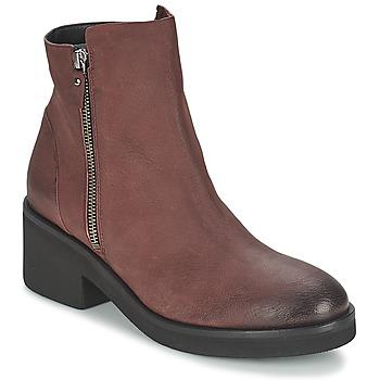 Schoenen Dames Laarzen Vic ASCILLE Bordeaux