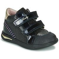 Schoenen Meisjes Hoge sneakers Pablosky 87529 Marine