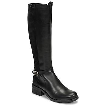 Schoenen Dames Hoge laarzen Betty London NINISS Zwart