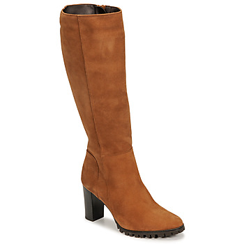 Schoenen Dames Hoge laarzen Betty London NOEME  camel