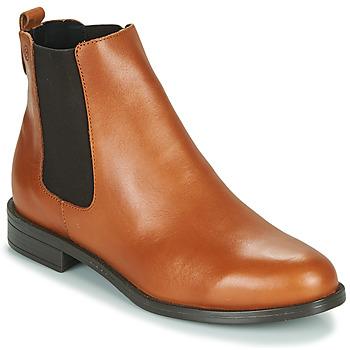 Schoenen Dames Laarzen Betty London NIDOLE  camel