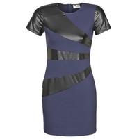 Textiel Dames Korte jurken Moony Mood JOULOU Marine