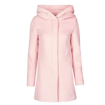Textiel Dames Mantel jassen Moony Mood NANTE Roze