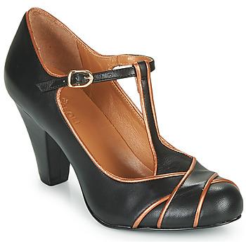Schoenen Dames pumps Cristofoli MESTIS Zwart / Brons
