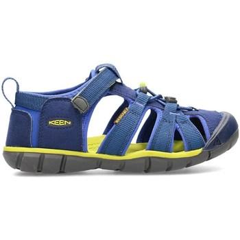 Schoenen Kinderen Sandalen / Open schoenen Keen Seacamp II Cnx Bleu, Olive, Graphite