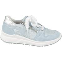 Schoenen Kinderen Lage sneakers Superfit 06061858500 Argent, Bleu