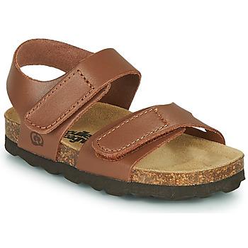 Schoenen Jongens Sandalen / Open schoenen Citrouille et Compagnie BELLI JOE Brown