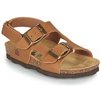 Schoenen Jongens Sandalen / Open schoenen Citrouille et Compagnie KELATU Brown