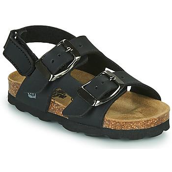 Schoenen Jongens Sandalen / Open schoenen Citrouille et Compagnie KELATU Zwart