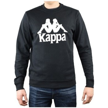 Textiel Heren Sweaters / Sweatshirts Kappa Sertum RN Sweatshirt Noir