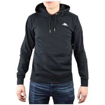 Textiel Heren Sweaters / Sweatshirts Kappa Vend Hooded Noir