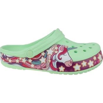 Schoenen Kinderen Slippers Crocs Fun Lab Unicorn Band Clog Vert, Rose
