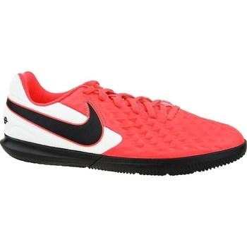 Schoenen Kinderen Voetbal Nike Tiempo Legend 8 Club IC JR Blanc, Noir, Rouge