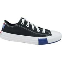 Schoenen Kinderen Lage sneakers Converse Chuck Taylor All Star JR Blanc, Noir