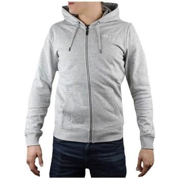 Textiel Heren Sweaters / Sweatshirts Kappa Veil Hooded Gris