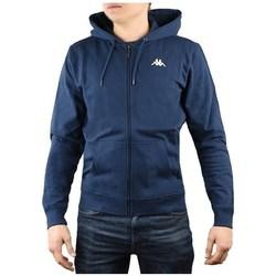 Textiel Heren Sweaters / Sweatshirts Kappa Veil Hooded Bleu marine