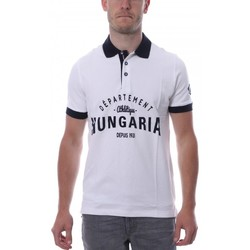 Textiel Heren Polo's korte mouwen Hungaria  Wit
