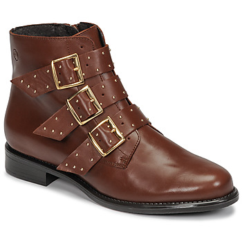 Schoenen Dames Laarzen Betty London LYS  camel