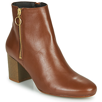 Schoenen Dames Enkellaarzen Betty London NILIVE  camel
