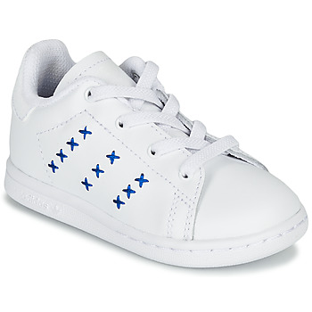 Schoenen Kinderen Lage sneakers adidas Originals STAN SMITH EL I Wit